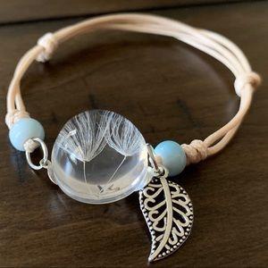 Jewelry - Dandelion Glass Bracelet